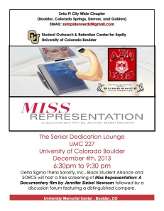 Miss Representation Flyer