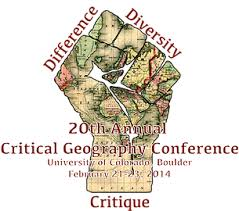 critical geography conference